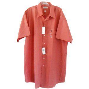 NWT Van Heusen Tall Salmon Button Down Shirt